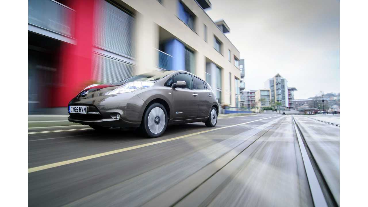 Nissan LEAF Sales Off Slightly In US As July Marks A Full Year Of Dismal Sales