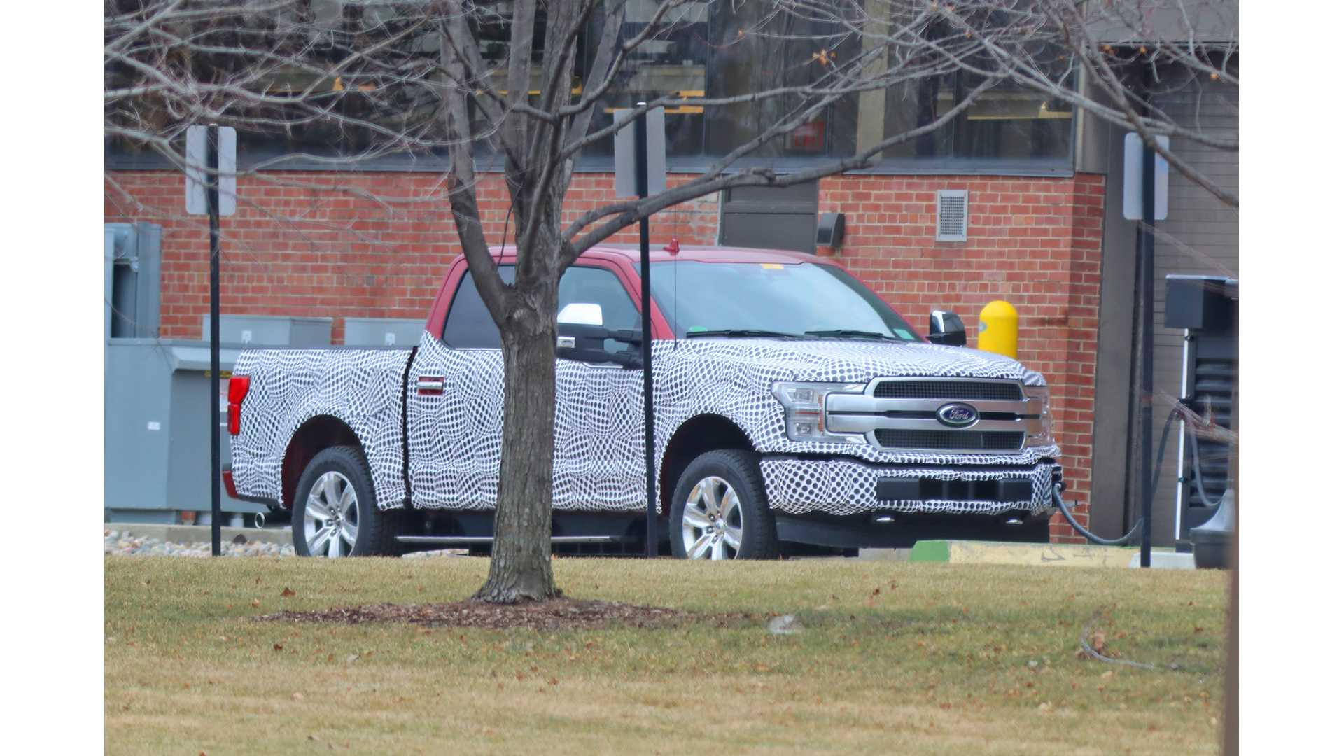 Ford F-150 Electric Pickup Truck Spied For First Time