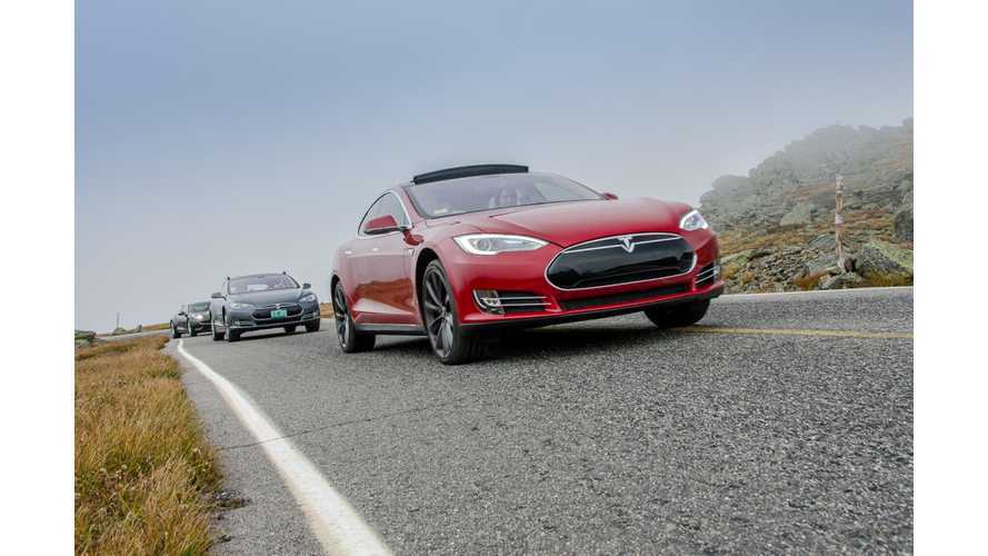 Boston.com Takes Tesla P85D on Day Trip to Mt Washington, Whines Incessantly