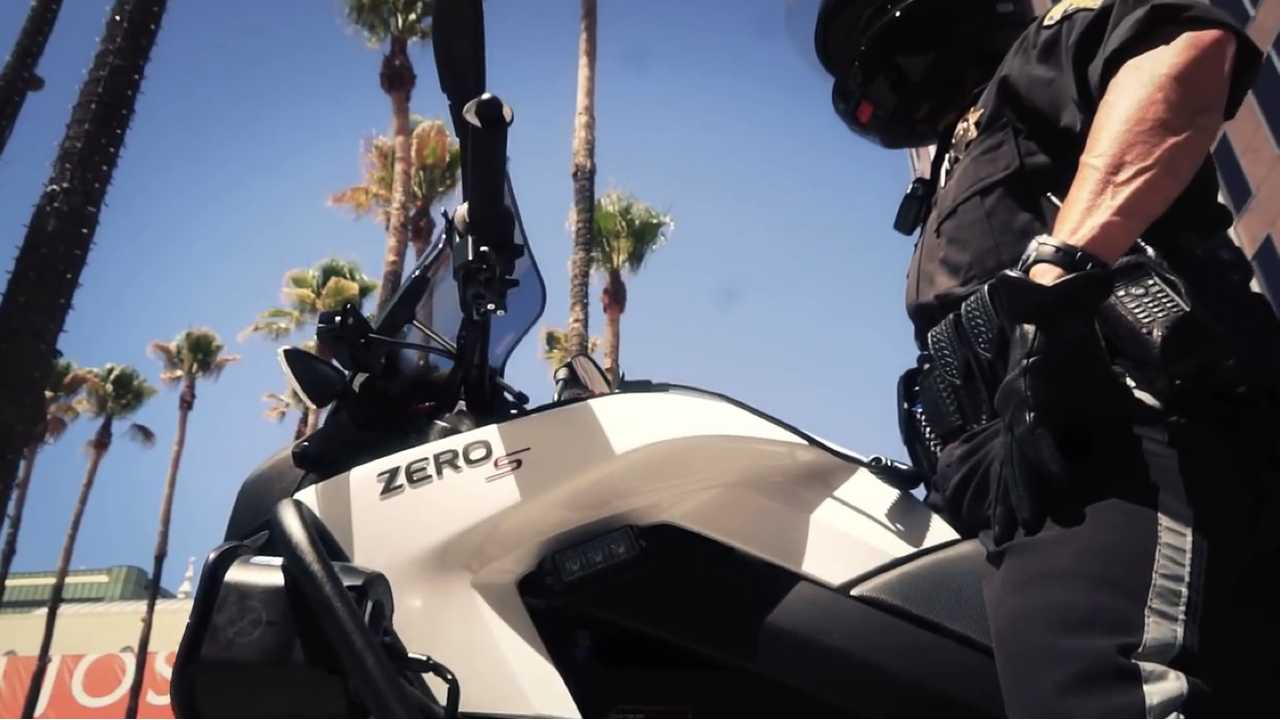 Over 50 U.S. Police Departments Use Zero Motorcycles (Video)