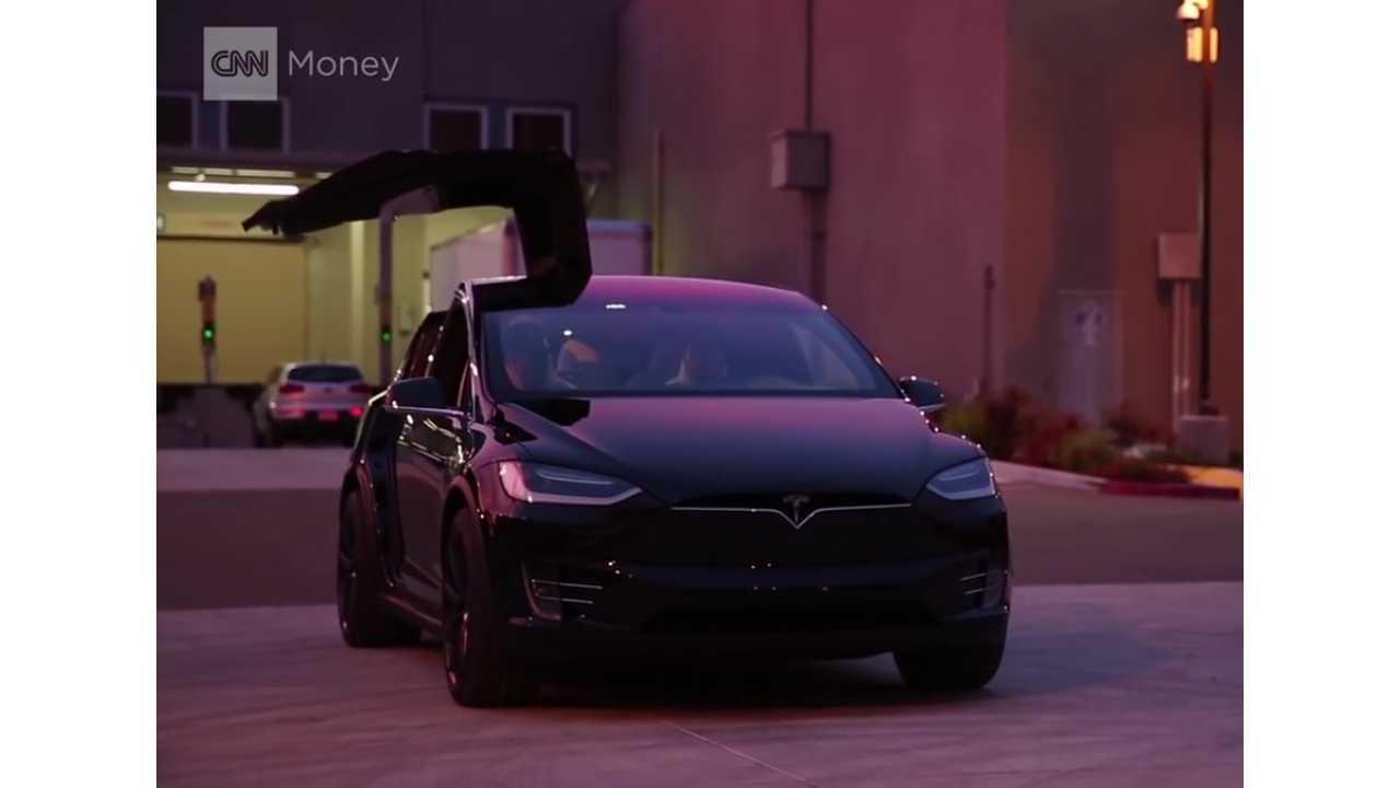 CNN Declares Tesla Model X The King Of Crossover SUVs (w/video)