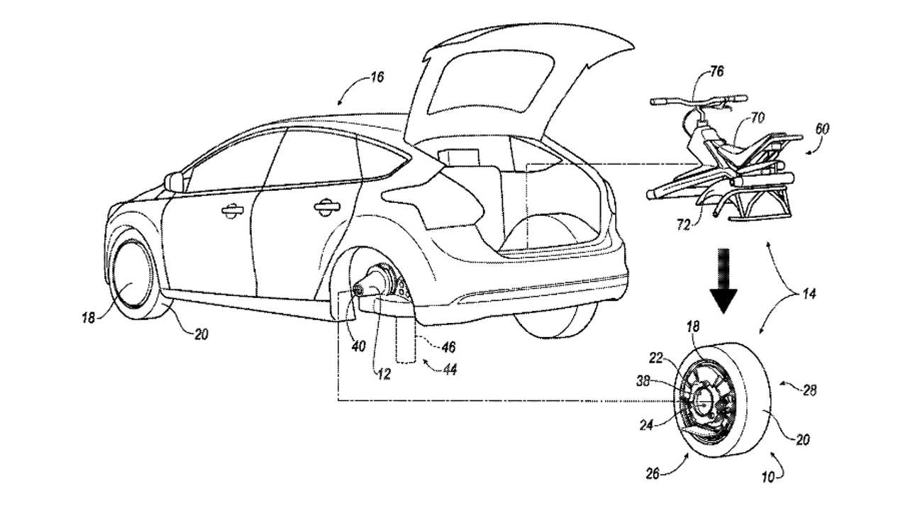 Ford Patents Batman-Like Electric Unicycle