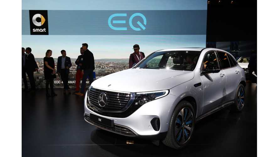 Mercedes-Benz Presents EQC 400 4MATIC In Paris: Video Roundup