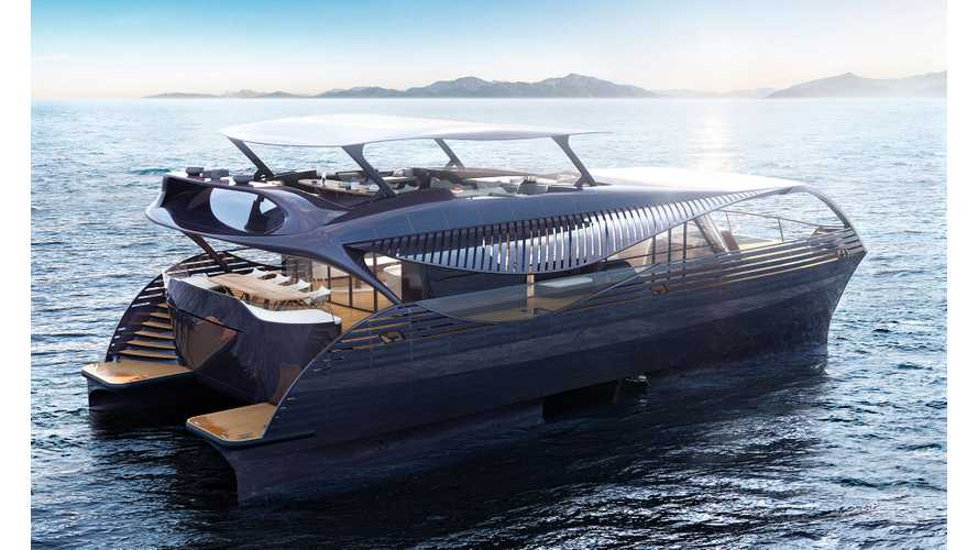 Meet The SolarImpact Electric Yacht