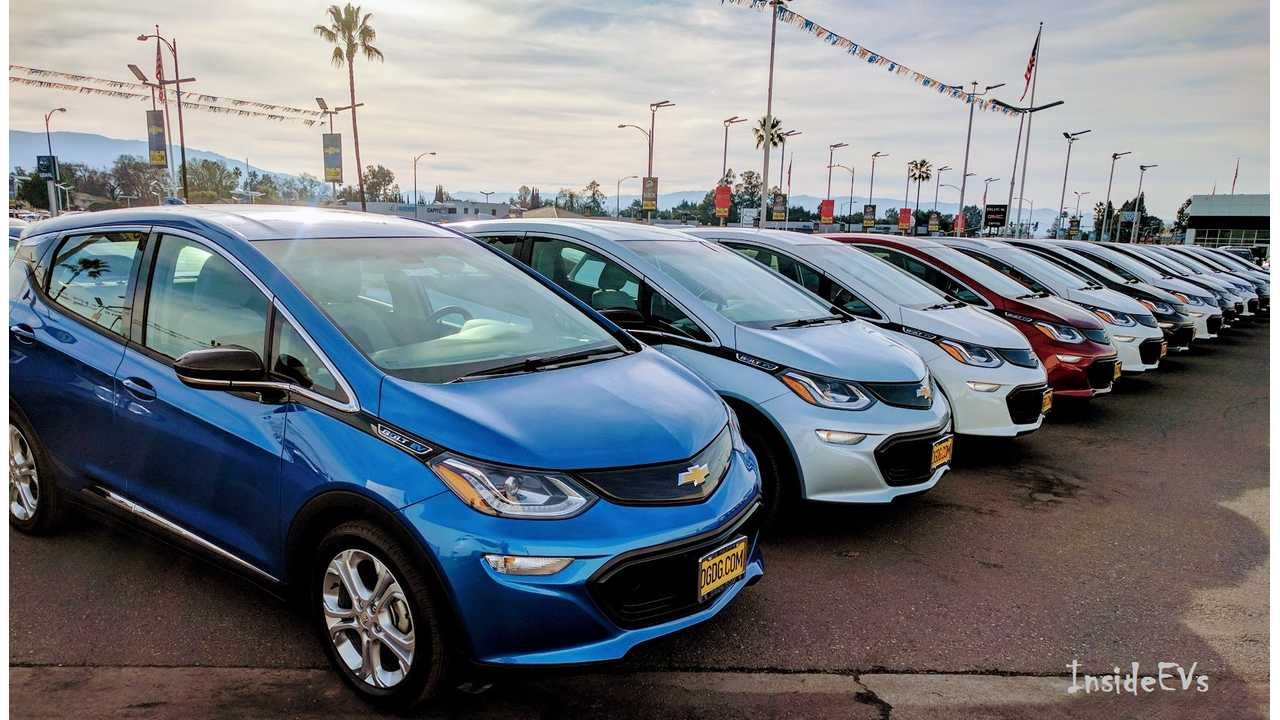 Chevrolet Volt Sales Hit 2017 High In March, While Bolt EV Struggles With Inventory Issues