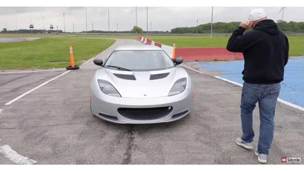 Lotus Evora conversion Tesla battery via speed academy