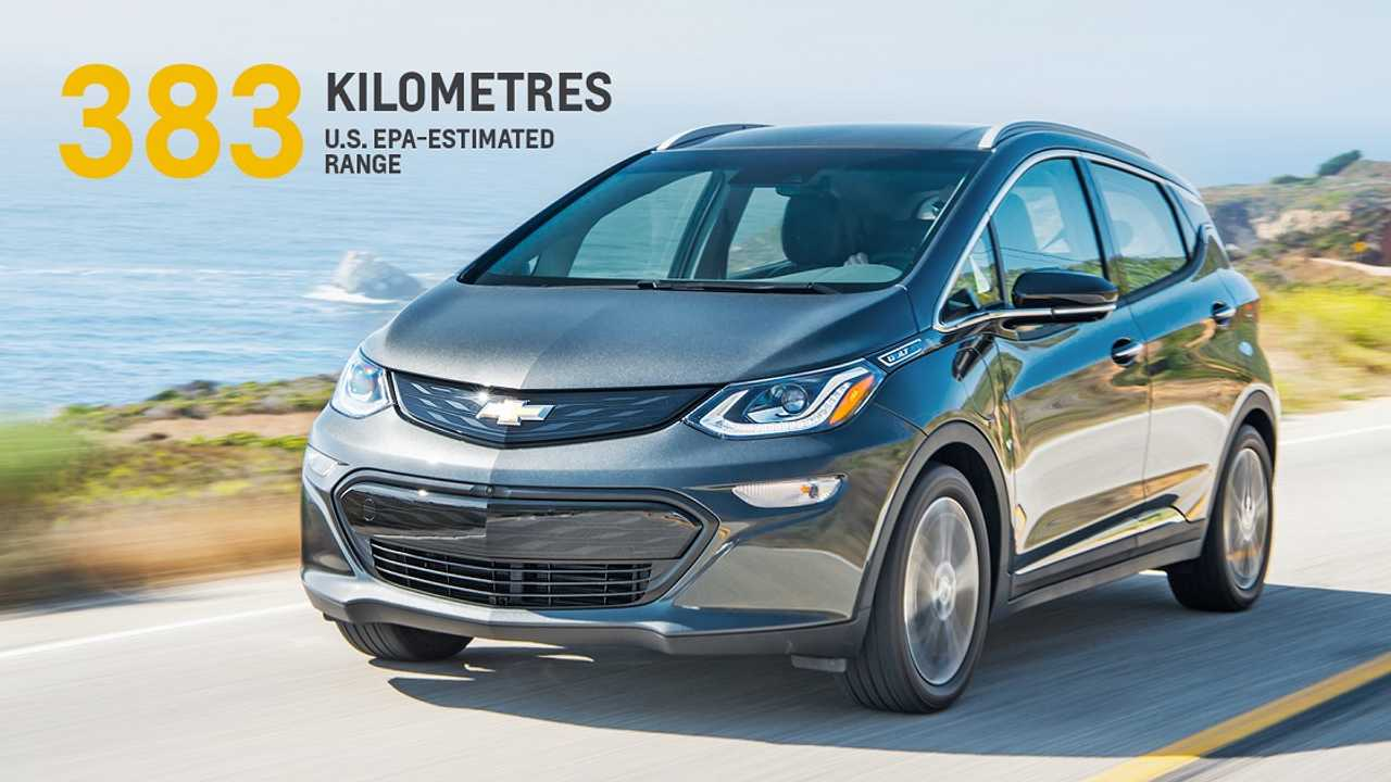 Chevrolet Bolt EV Priced From $42,785 In Canada