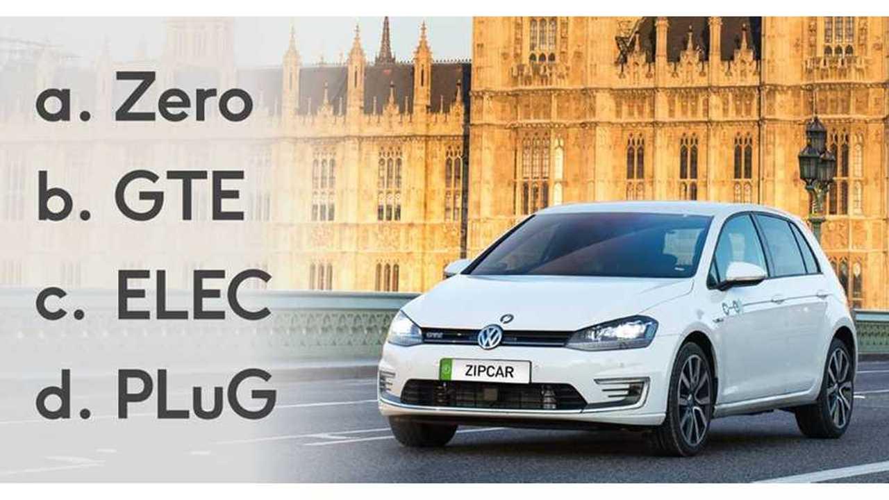 Zipcar Adds 50 Volkswagen Golf GTE In London From £7 Per Hour