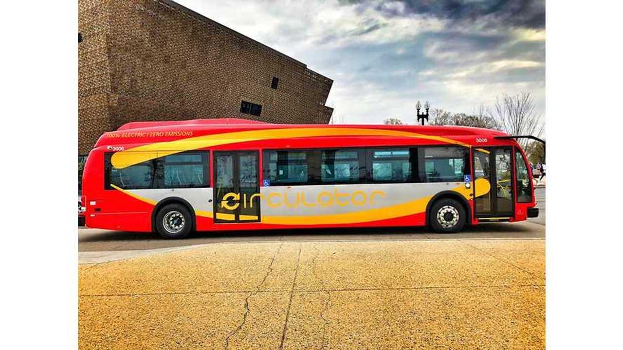 Washington D.C. Deploys Proterra Electric Buses Across Nation's Capital