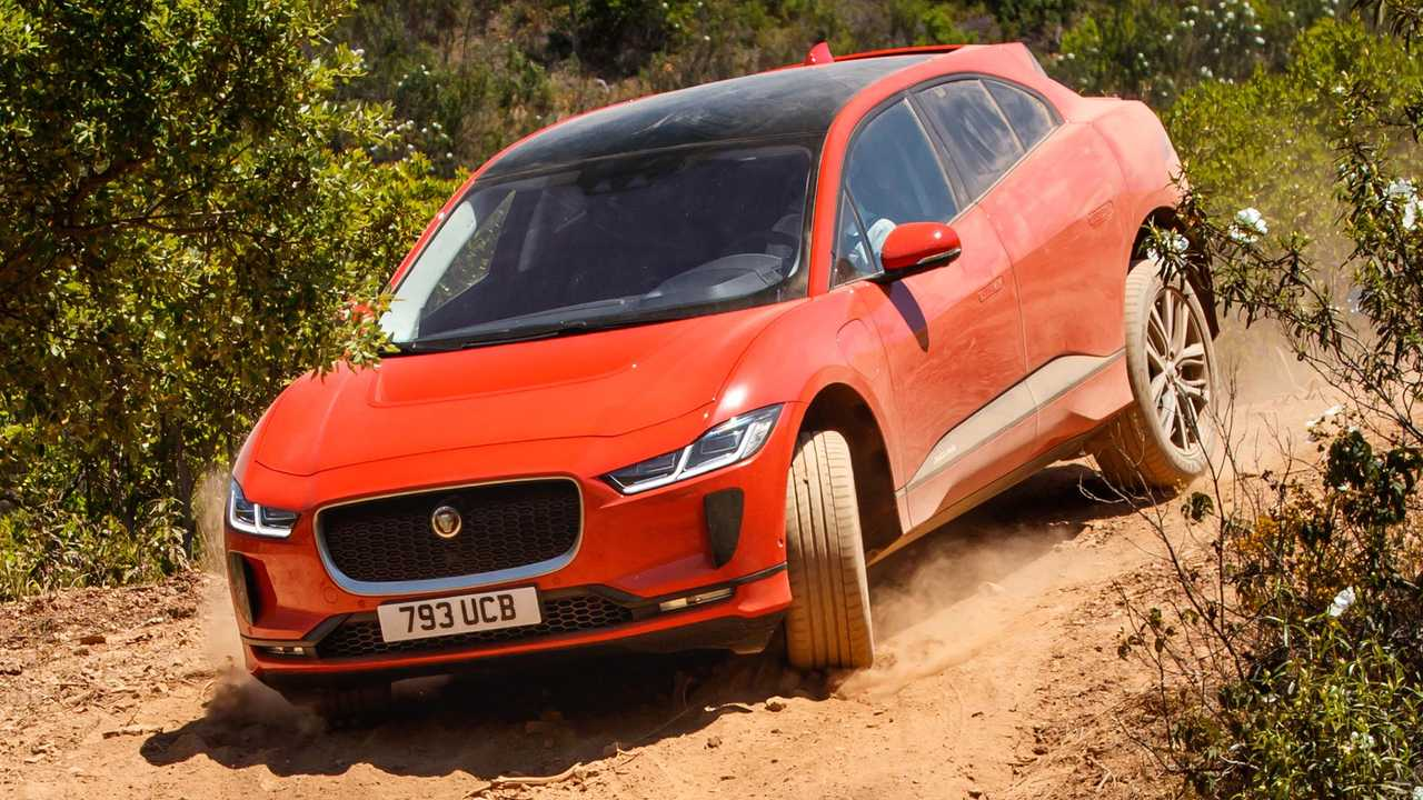 The Jaguar I-Pace is outfitted with Pirelli P Zero Elect tires.