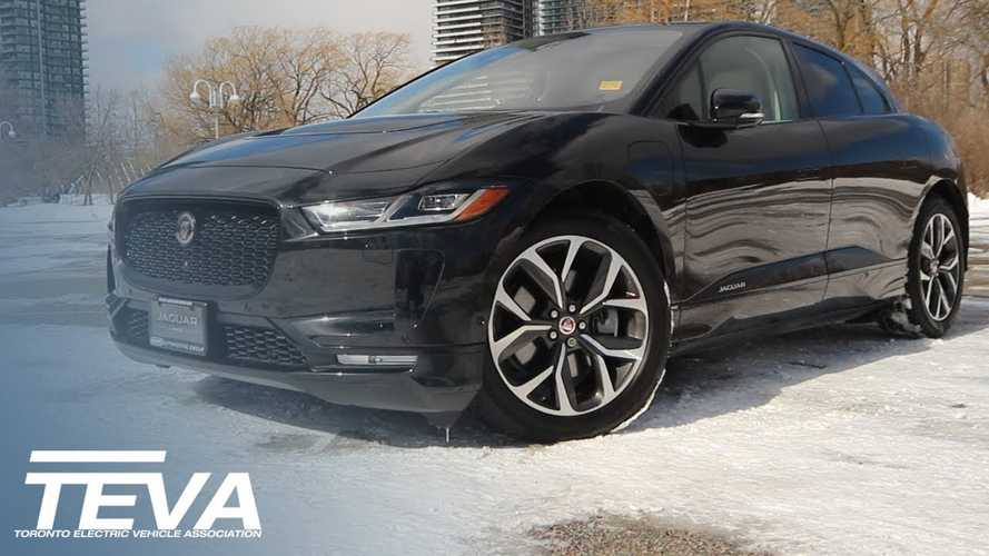 Jaguar I-PACE Overview By TEVA In Winter Conditions: Video