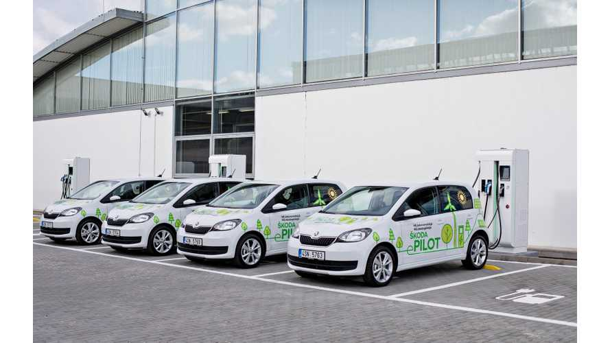 Škoda Launches Citigo E-Pilot, Production To Start In Q4 2019
