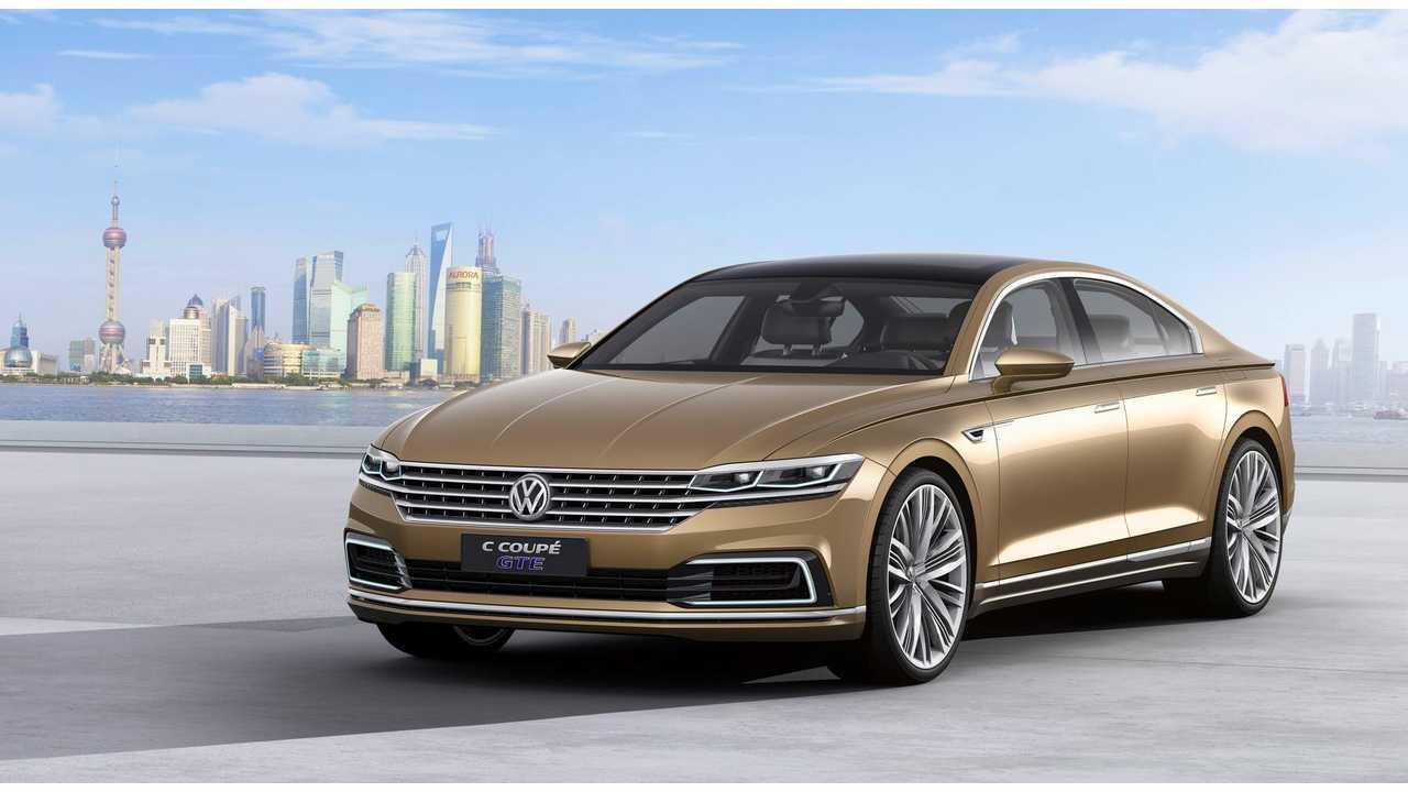 Volkswagen Debuts C Coupe GTE Plug-In Hybrid
