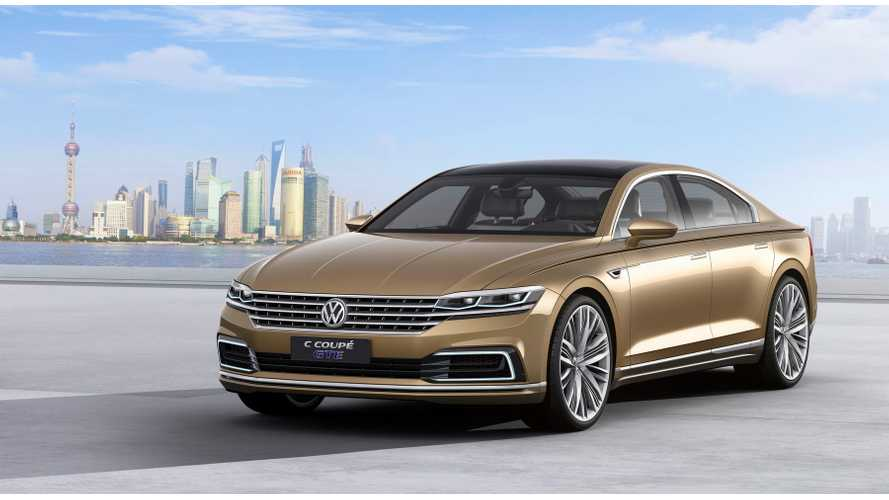 Volkswagen Debuts C Coupe GTE Plug-In Hybrid