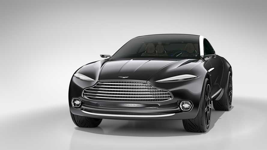 Aston Martin Debuts All-Electric, AWD DBX Concept