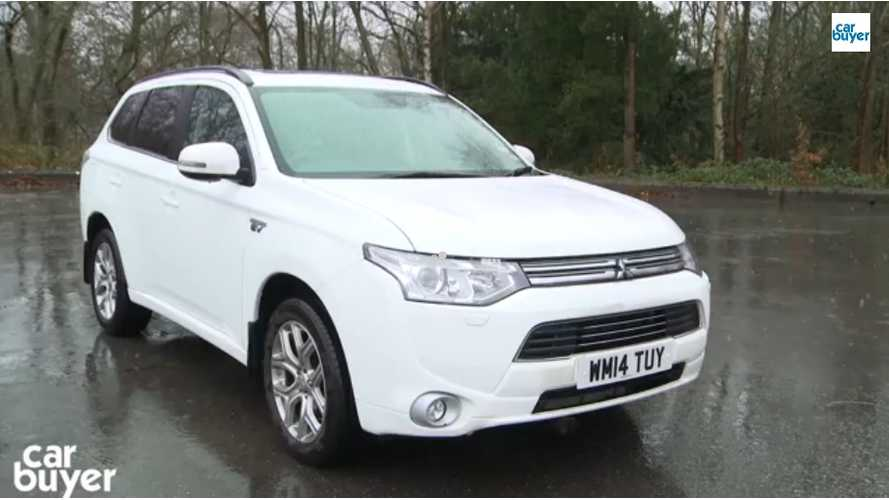 Mitsubishi Outlander PHEV Named Best Company Car - Video