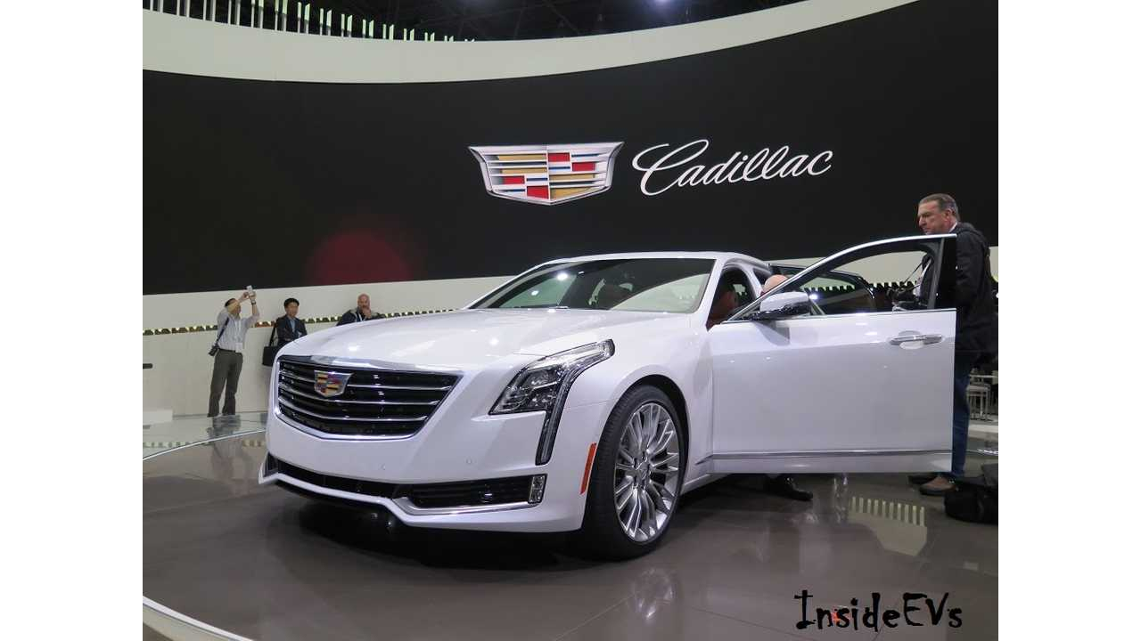 The Cadillac CT6 Debuted This Week In New York, But Will The Plug-In Option Survive The Cadillac Boss? (Picture: InsideEVs/Tom Moloughney)
