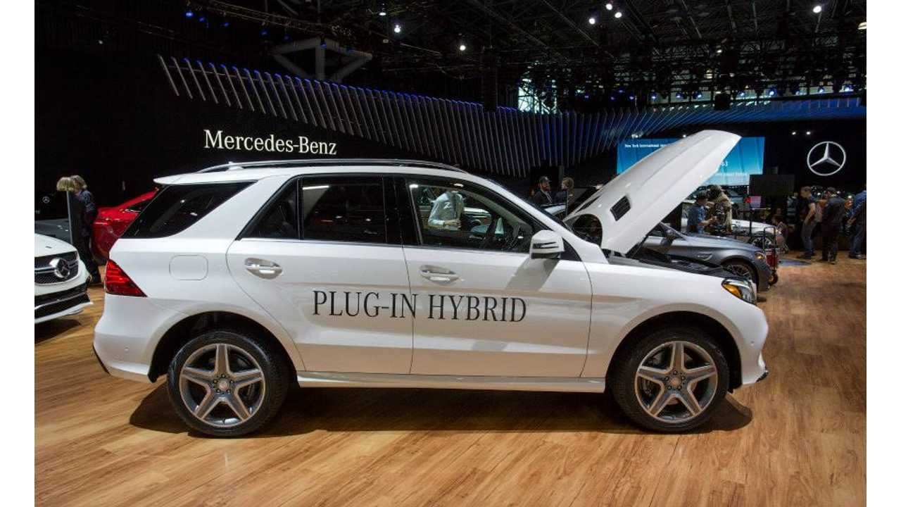 Mercedes-Benz GLE Revealed At New York Auto Show