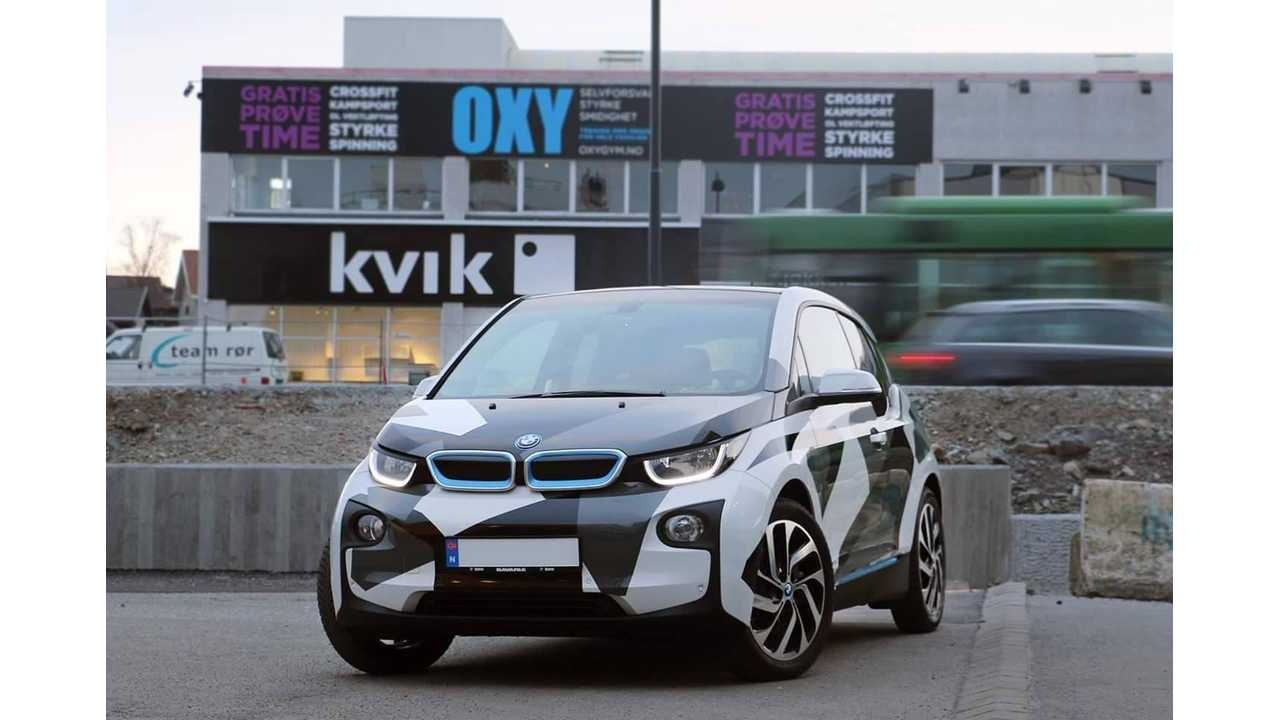 Wrapped BMW i3 - Image: Magnus Winther