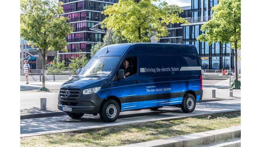 Electric Van Face-Off - Mercedes eSprinter vs eVito