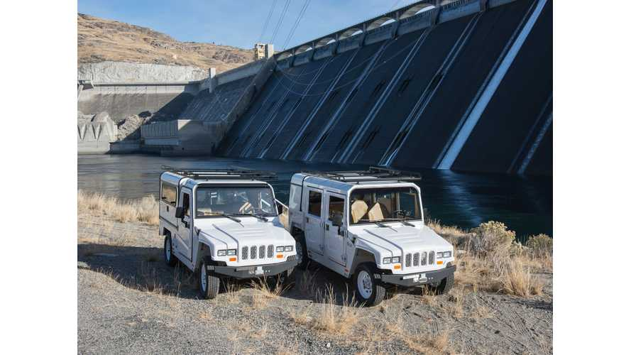 Grand Coulee Dam Adds 27 Electric Utility Vehicles - (w/video)