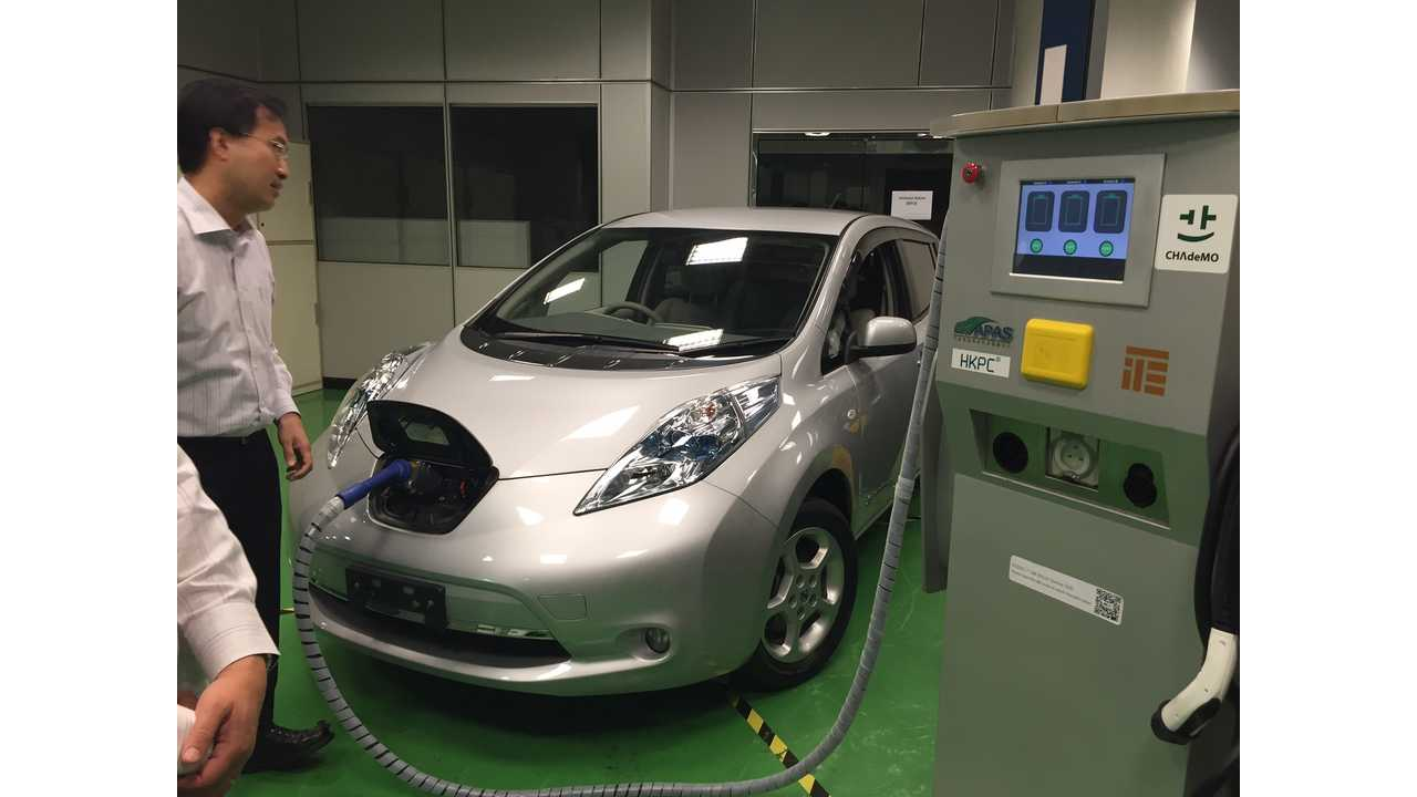 HKPC Developing EV Charger Reservation System Tailored For Hong Kong
