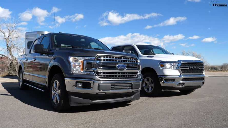 Ford F-150 V8 Battles Ram 1500 V6 In Fuel-Efficiency Towing Test