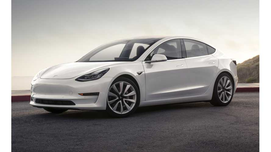Tesla Registers Nearly 8,000 More Model 3 VINs