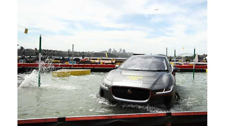 Jaguar I-PACE Versus Water: Video