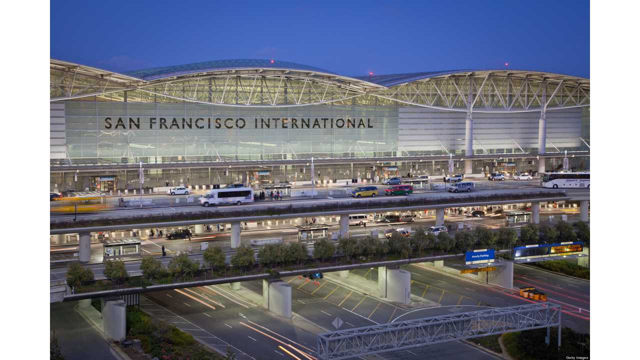 San Francisco International Airport To Install 4 DC Fast Chargers