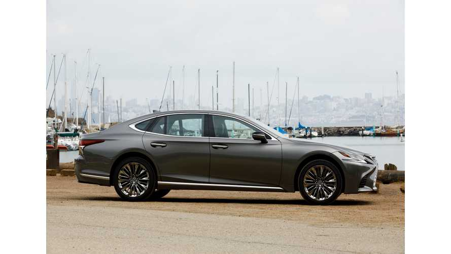 Say What? Lexus Finally Considering PHEVs & EVs