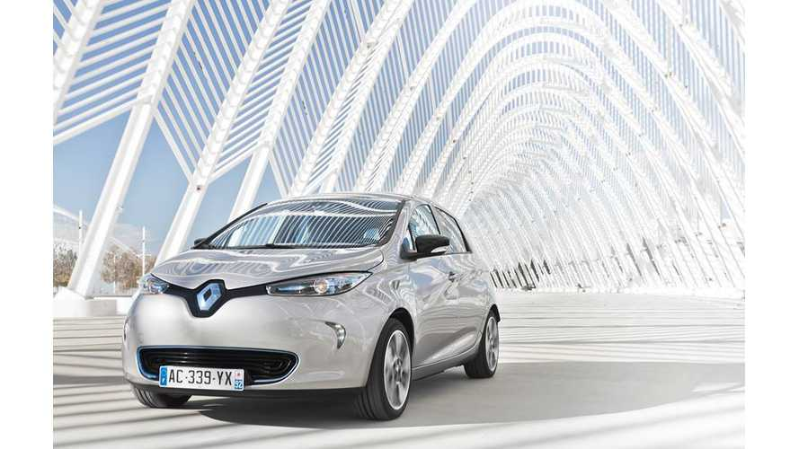 Updated 2015 Renault ZOE Coming - At Least 8% Range Increase