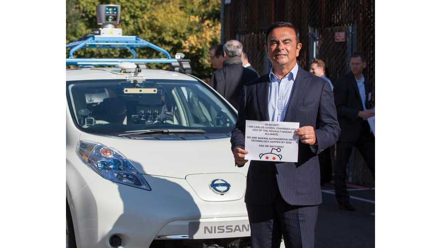 Ghosn Reddit AMA:  I'm the CEO of Renault and Nissan, Ask Me Anything!