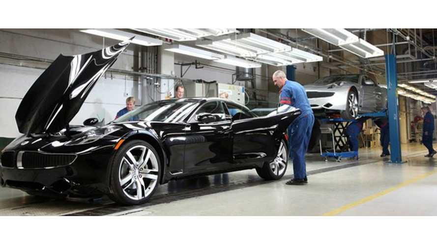 Fisker Karma Assembly Lines Being Dismantled