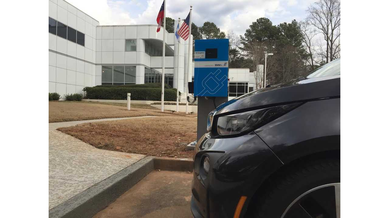 BMW DC Fast Charger Expansion Heads South With CCS Install In Atlanta, Georgia