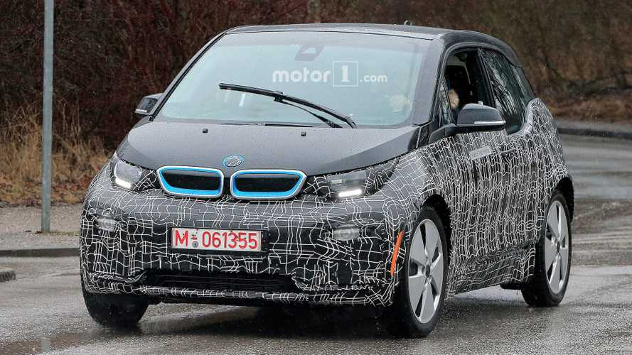 Updated BMW i3 Spotted Out Testing In First Spyshots