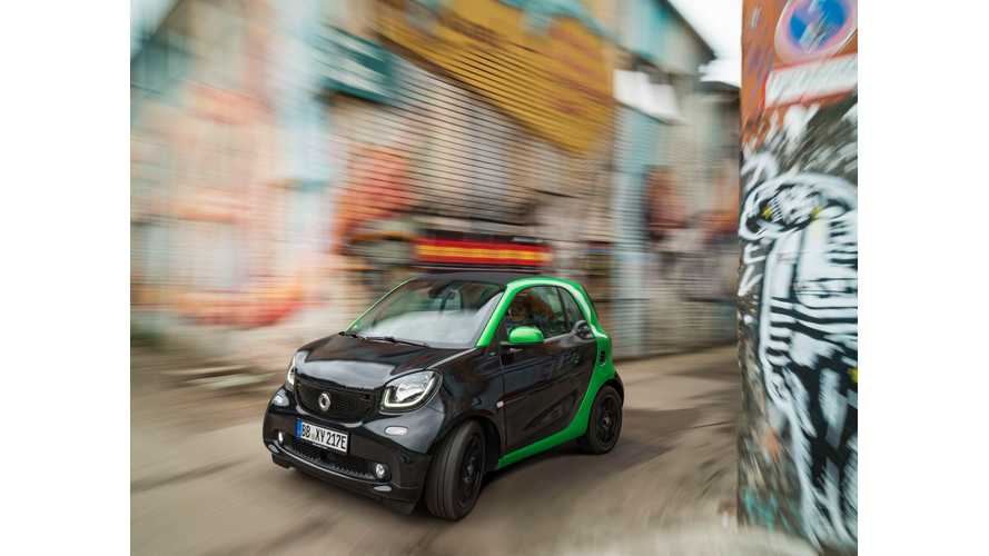 New Smart ForTwo & ForFour Electric Drive Now On Sale In Germany