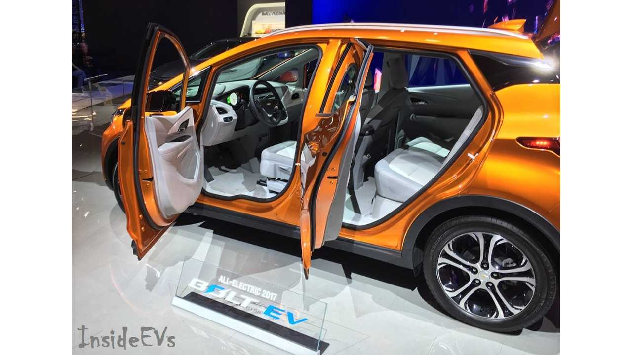 General Motors And Lyft To Test Self-Driving Chevrolet Bolt EV Taxi In 2017