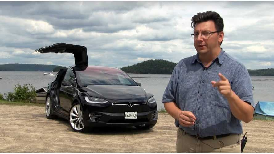 Tesla Model X Review From Canada - Video