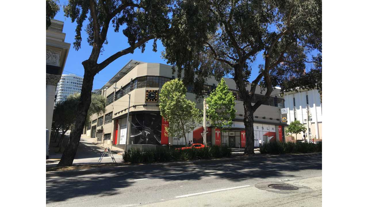 Tesla's Flagship Store Now Open In San Francisco