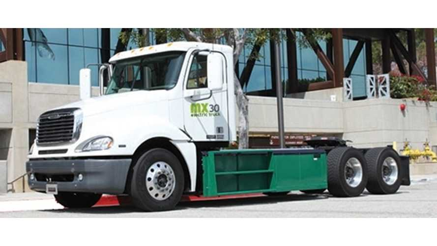 California To Award $23.6 Million For Zero Emission Trucks At Seaports