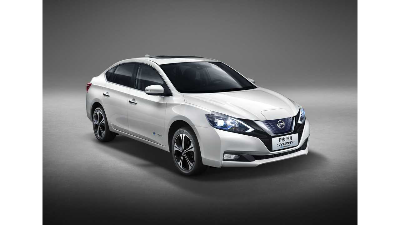 Nissan Sylphy EV Now Available For Order
