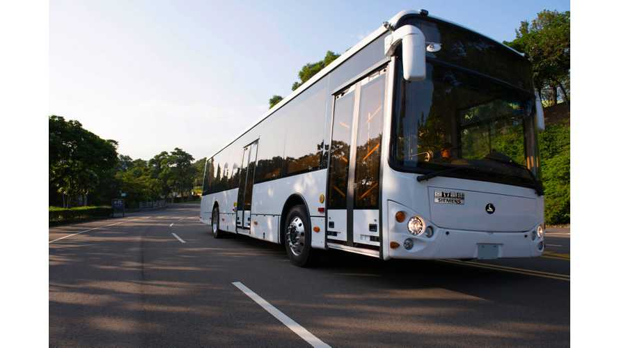 Siemens, Sony And Aleees Team Up For Advance Electric Bus Development