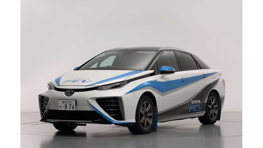 Toyota FCV to Feature In Final Stage of 2014 Japanese Rally Championship