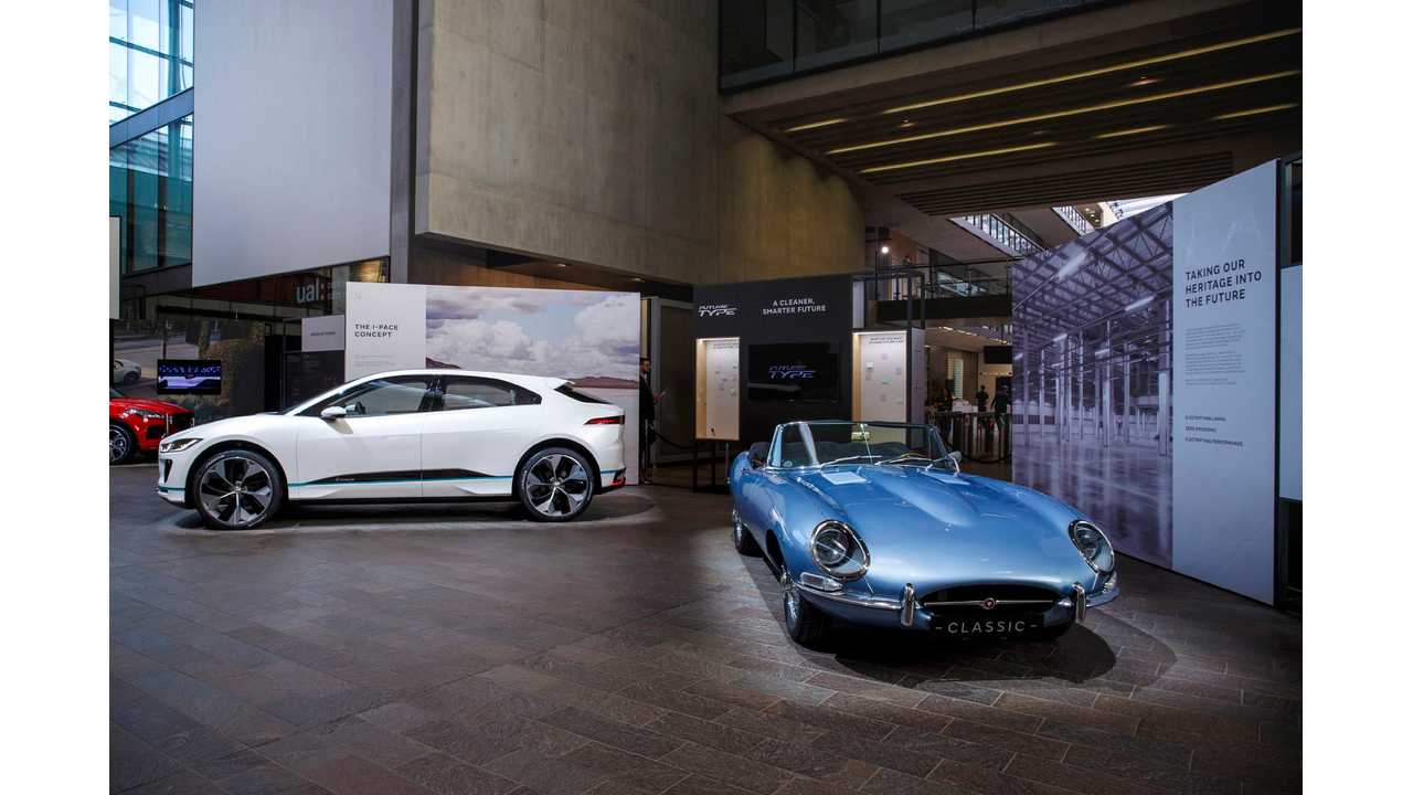 Jaguar I-PACE Concept & E-type Zero