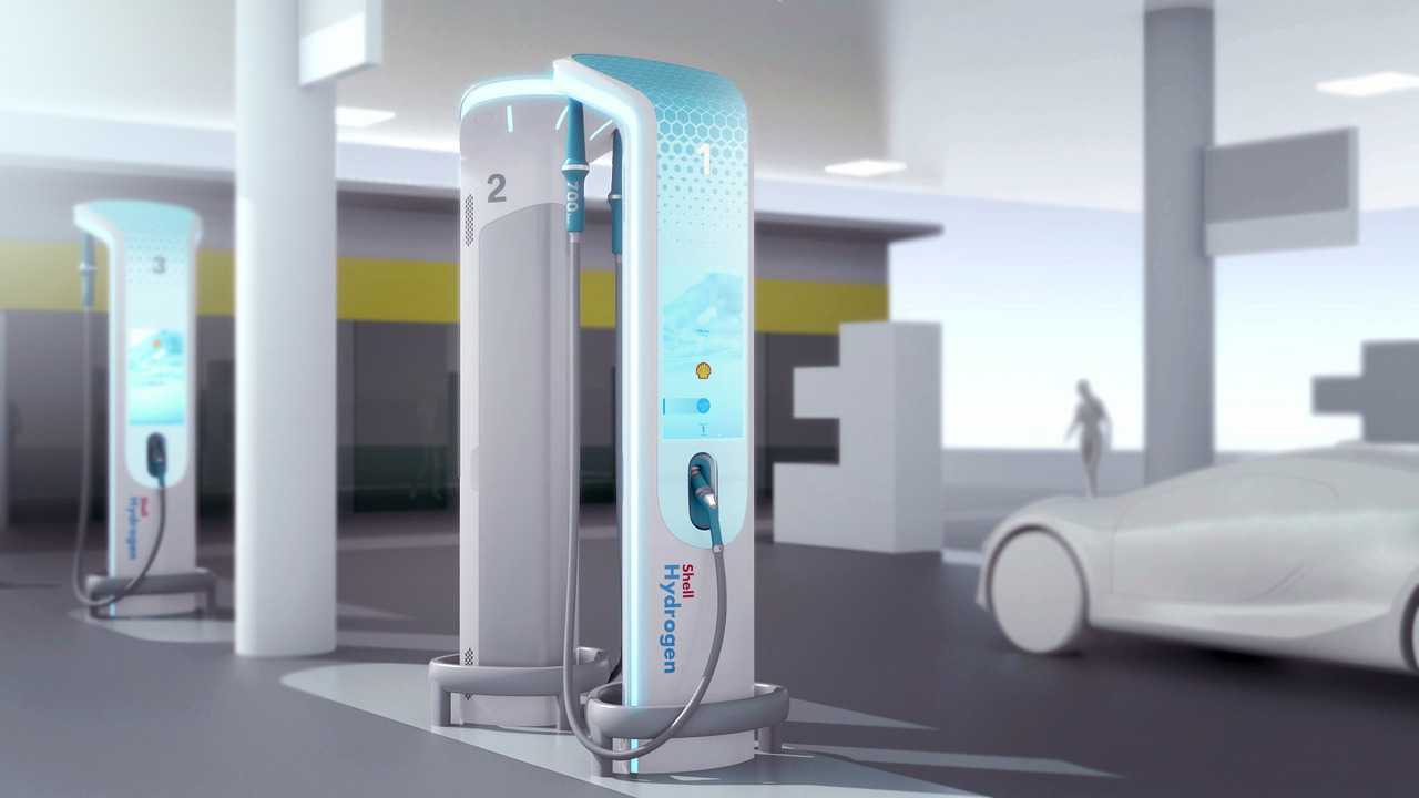 BMW Teams With Shell To Design Hydrogen Fueling Station