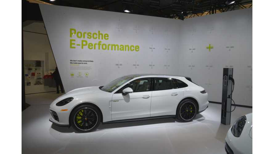Porsche: 60% Of Panamera  Deliveries In Europe Are Plug-In Hybrid Variant