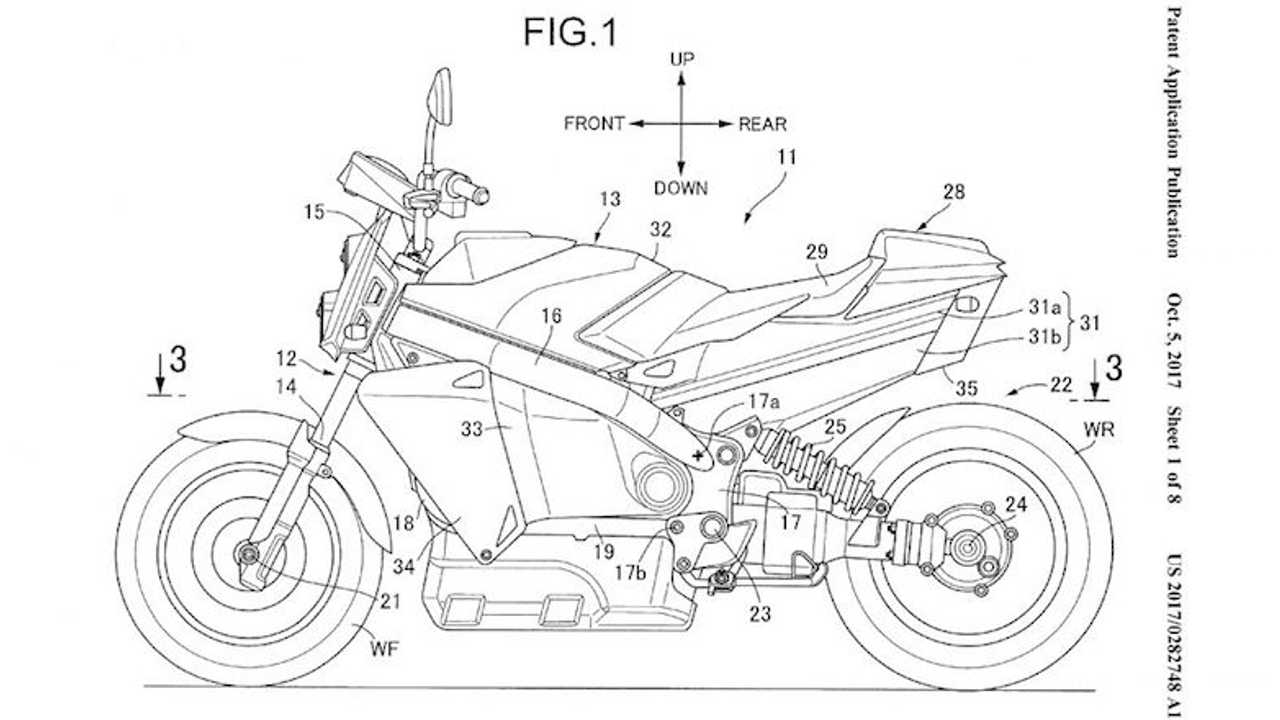 Honda Patents Fuel Cell Motorcycle With Help From Toyota & Nissan