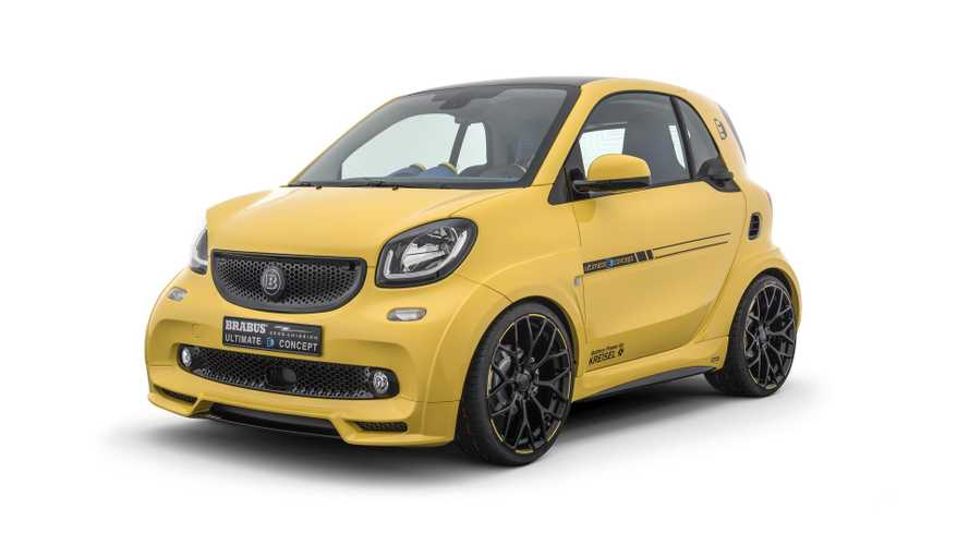 Brabus Ultimate E Concept Is A 201-HP Smart EV