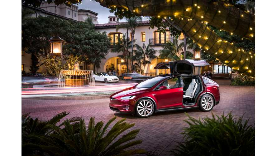 Tesla Model X Put Through Its Paces By Translogic - Video